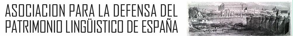 Asociación para la defensa del patrimonio lingüístico de España